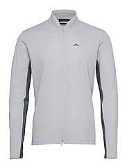 Alex Golf Mid Layer - STONE GREY MELANGE