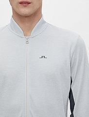 J. Lindeberg Golf - Alex Golf Mid Layer - fleece - stone grey melange - 6