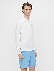 J. Lindeberg Golf - Alex Golf Mid Layer - fleece - white - 0