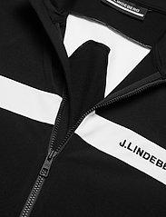 J. Lindeberg Golf - Jarvis Mid Layer - langarmshirts - black - 3