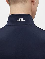 J. Lindeberg Golf - Bran Golf Print Mid Layer - fleece - jl navy - 6