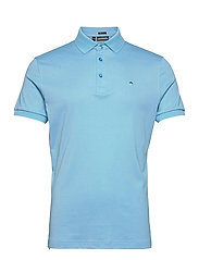 Stan Regular Fit Golf Polo - OCEAN BLUE MELANGE
