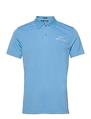Bridge Regular Fit Golf Polo - OCEAN BLUE
