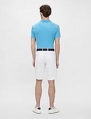 J. Lindeberg Golf - Bridge Regular Fit Golf Polo - kurzärmelig - ocean blue - 0