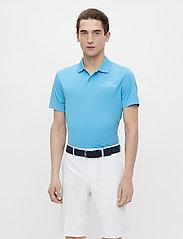 J. Lindeberg Golf - Bridge Regular Fit Golf Polo - kurzärmelig - ocean blue - 4