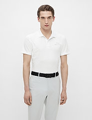 J. Lindeberg Golf - Bridge Regular Fit Golf Polo - kurzärmelig - white - 0