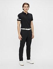 J. Lindeberg Golf - Heath Regular Fit Golf Polo - kurzärmelig - black - 4