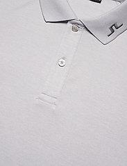 J. Lindeberg Golf - Heath Regular Fit Golf Polo - kurzärmelig - stone grey melange - 7