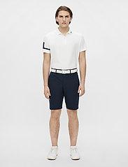 J. Lindeberg Golf - Heath Regular Fit Golf Polo - kurzärmelig - white - 5