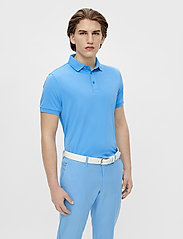 J. Lindeberg Golf - Tour Tech Slim Fit Golf Polo - kurzärmelig - ocean blue - 0