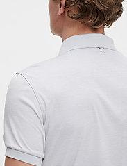 J. Lindeberg Golf - Tour Tech Slim Fit Golf Polo - kurzärmelig - stone grey melange - 6