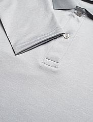 J. Lindeberg Golf - Jakob Slim Fit LS Golf Polo - langärmelig - stone grey melange - 7