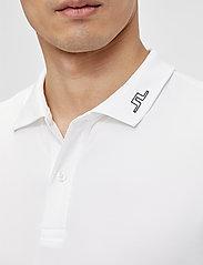 J. Lindeberg Golf - Jakob Slim Fit LS Golf Polo - langärmelig - white - 5