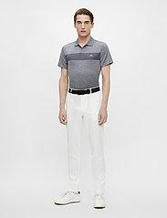 J. Lindeberg Golf - Jay Slim Fit Golf Polo - kurzärmelig - stone grey melange - 5