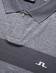 J. Lindeberg Golf - Jay Slim Fit Golf Polo - kurzärmelig - stone grey melange - 3