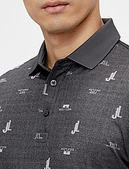 J. Lindeberg Golf - Glen Regular Fit Golf Polo - kurzärmelig - jl bridge dark grey - 5