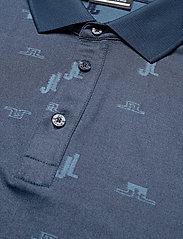 J. Lindeberg Golf - Glen Regular Fit Golf Polo - kurzärmelig - jl bridge ocean blue - 7
