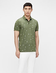J. Lindeberg Golf - Glen Regular Fit Golf Polo - kurzärmelig - jl bridge thyme green - 0