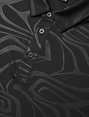 J. Lindeberg Golf - Tony Slim Fit Golf Polo Print - kurzärmelig - neo deboss black - 3