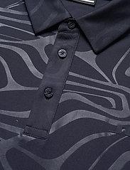 J. Lindeberg Golf - Tony Slim Fit Golf Polo Print - kurzärmelig - neo deboss navy - 8