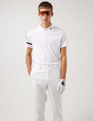 J. Lindeberg Golf - Heath Regular Fit Golf Polo - pik - white - 0