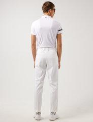 J. Lindeberg Golf - Heath Regular Fit Golf Polo - pik - white - 3