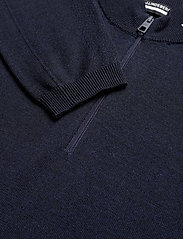 J. Lindeberg Golf - Zam Zipped Golf Sweater - half zip - navy melange - 3