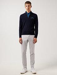 J. Lindeberg Golf - Max Zipped Golf Sweater - half zip - jl navy melange - 4