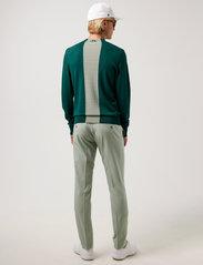 J. Lindeberg Golf - Lawrence Golf Sweater - rund hals - treeline green - 3