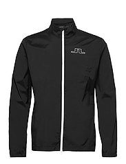 Ash Light Packable Golf Jacket - BLACK