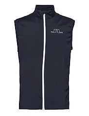 Ash Light Packable Golf Vest - JL NAVY