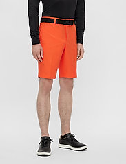 J. Lindeberg Golf - Eloy Golf Shorts - golf-shorts - lava orange - 0