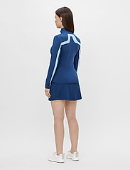 J. Lindeberg Golf - Seasonal Janice Mid Layer - golf jackets - midnight blue - 4
