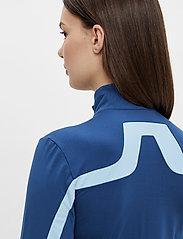 J. Lindeberg Golf - Seasonal Janice Mid Layer - golf jackets - midnight blue - 7