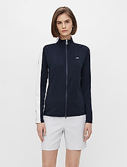 J. Lindeberg Golf - Marie Golf Mid Layer - golf jackets - jl navy - 0