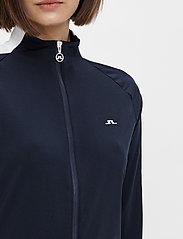 J. Lindeberg Golf - Marie Golf Mid Layer - golf jackets - jl navy - 9