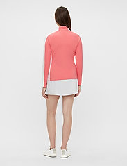 J. Lindeberg Golf - Marie Golf Mid Layer - golf jackets - tropical coral - 3
