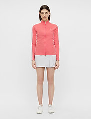 J. Lindeberg Golf - Marie Golf Mid Layer - golf jackets - tropical coral - 4