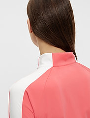 J. Lindeberg Golf - Marie Golf Mid Layer - golf jackets - tropical coral - 6