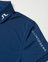 J. Lindeberg Golf - Tour Tech Golf Polo - polos - midnight blue - 5