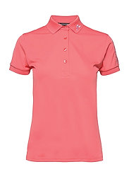 Tour Tech Golf Polo - TROPICAL CORAL