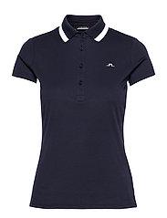 Alve Golf Polo - NAVY MELANGE