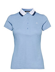 Alve Golf Polo - SUMMER BLUE MELANGE