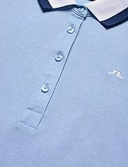 J. Lindeberg Golf - Alve Golf Polo - polos - summer blue melange - 3