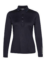 Tour Tech LS Golf Polo - JL NAVY