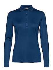 Tour Tech LS Golf Polo - MIDNIGHT BLUE
