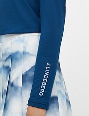 J. Lindeberg Golf - Tour Tech LS Golf Polo - polos - midnight blue - 5