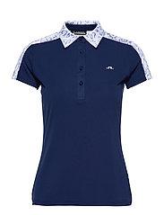 Cara Golf Polo - ANIMAL BLUE WHITE