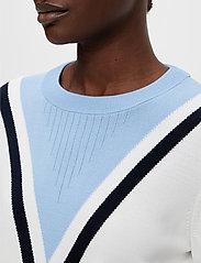 J. Lindeberg Golf - Stina Golf Sweater - gebreid - white - 5