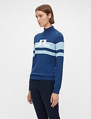 J. Lindeberg Golf - Rosa Golf Sweater - turtlenecks - midnight blue - 0